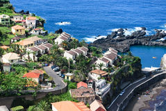 The houses of Porto Moniz Stock Photo