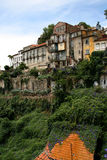Houses in Porto, Portugal. Houses on the hill by the river Douro in Porto, Portugal stock photo