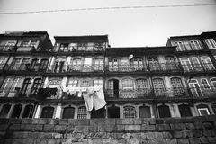Houses in Porto, Portugal Stock Image