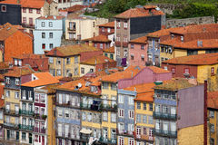 Houses of Porto in Portugal Royalty Free Stock Image