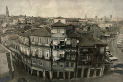 Houses in Porto, Portugal Royalty Free Stock Images