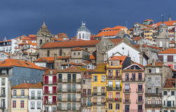 Houses in Porto Royalty Free Stock Photography