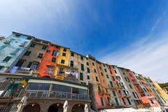 Houses in Portovenere Liguria Italy Stock Photography