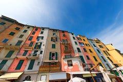 Houses in Portovenere Liguria Italy Stock Photos