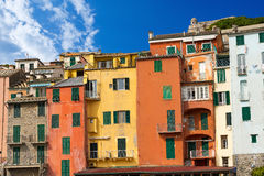 Houses in Portovenere Liguria Italy Royalty Free Stock Photography