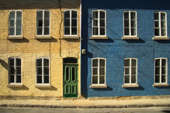 Houses in Quebec city Royalty Free Stock Images