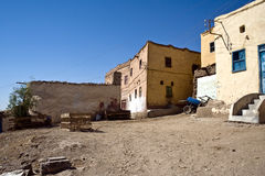 Houses of Qurna Royalty Free Stock Photography