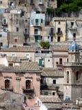 Houses of Ragusa Ibla Stock Images
