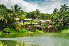 Houses in Rangamati Royalty Free Stock Image
