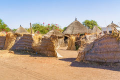 Houses in Rashid,  Sudan Royalty Free Stock Photography