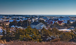 Houses for rent at the Danish coast Royalty Free Stock Image