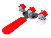 Houses repair Royalty Free Stock Photography