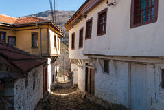 Houses in Republic of Macedonia (FYROM) Royalty Free Stock Images