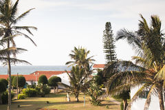 Houses in a resort in Ponta Do Ouro Royalty Free Stock Photo