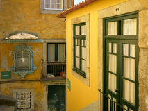 Houses in Ribeira District, Porto Stock Photo