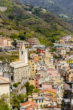 Houses of Riomaggiore Royalty Free Stock Image