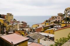 Houses of Riomaggiore Stock Photo