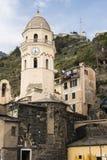 Houses of Riomaggiore Stock Photos