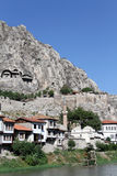 Houses in Amasya Royalty Free Stock Photography