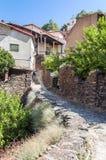 Houses of Robledillo Royalty Free Stock Photo