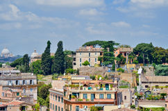 Houses in Rome Royalty Free Stock Photo