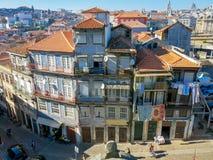 Houses Rua Escura in Porto Royalty Free Stock Image