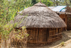 Houses in the rural Ethiopia Stock Photo