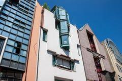 Houses in Saalgasse street in Frankfurt Royalty Free Stock Image