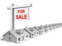 Houses For Sale Royalty Free Stock Photos