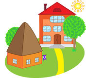 Houses for sale Royalty Free Stock Photo