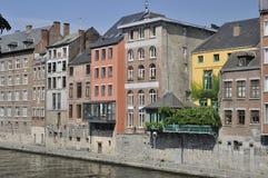Houses on sambre river, namur Stock Images