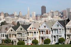 Houses, San Francisco, California, USA Royalty Free Stock Photo