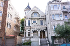 Houses in San Francisco Stock Image