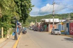 Houses at San Juan del Sur in Nicaragua Stock Photography