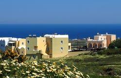 Houses On Santorini Greece Royalty Free Stock Photo