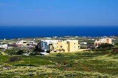 Houses On Santorini Greece Royalty Free Stock Image