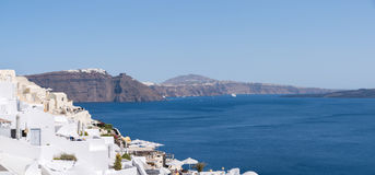 Houses in Santorini Stock Images