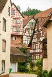 Houses in schiltach black forest, Germany Royalty Free Stock Images