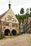 Houses in schiltach black forest, Germany Stock Image