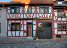 Houses in Seligenstadt Royalty Free Stock Photography