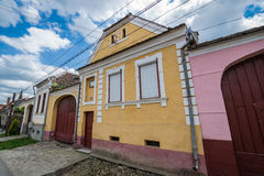 Houses in Sibiel Royalty Free Stock Images