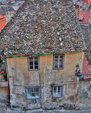 Houses in Sibiu Stock Photo