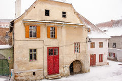 Houses in Sibiu Royalty Free Stock Image