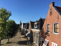 Houses in Sloten Stock Image