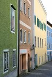 Houses in a small city Stock Photography