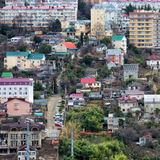 Houses in Sochi. Russia Royalty Free Stock Photos