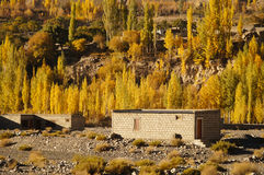 Houses in Sost,Northern Pakistan Stock Photography