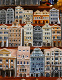 houses souvenirtoyen Fotografering för Bildbyråer