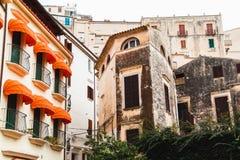 Houses of Sperlonga. Italy Royalty Free Stock Photography
