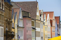 Houses in Speyer, Germany Royalty Free Stock Photo